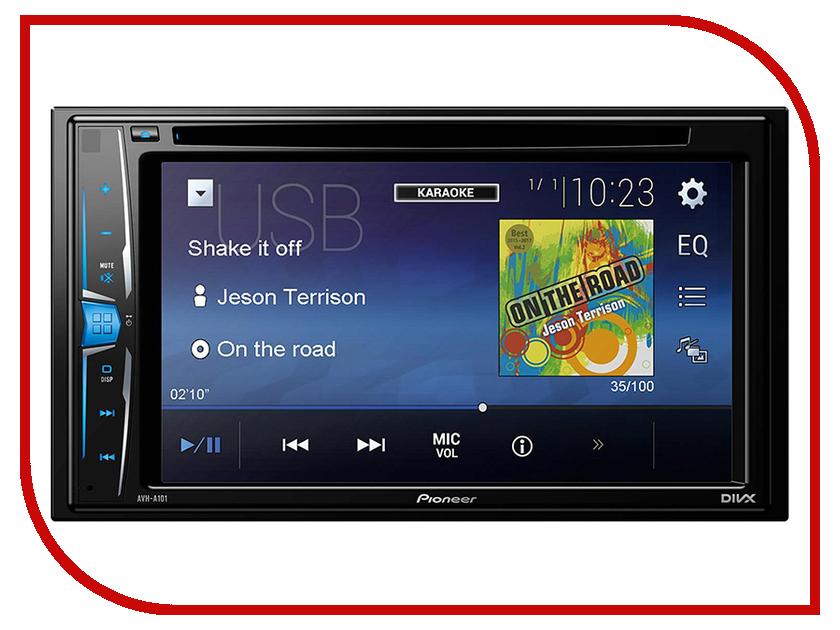 Автомагнитола Pioneer AVH-A101 uhans a101 mt6767 1gb 8gb smartphone white