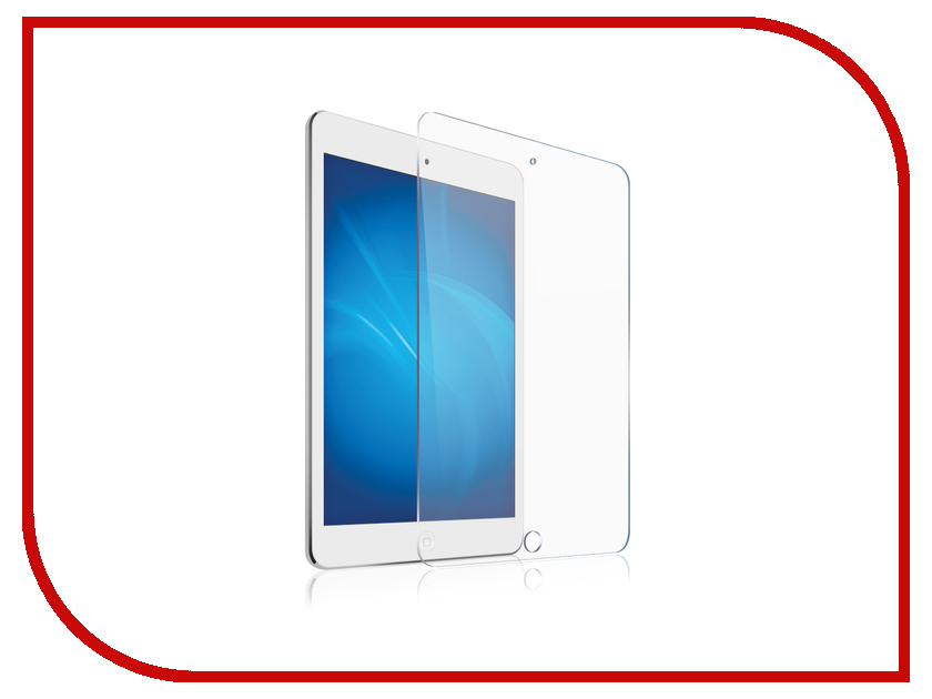 Аксессуар Защитное стекло Zibelino TG для Apple iPad 5/iPad6/Air/Air2/PRO 9.7 ZTG-APL-9.7 for ipad air air2 protective cover 9 7 inch flat panel bluetooth keyboard combo ultra thin portable case