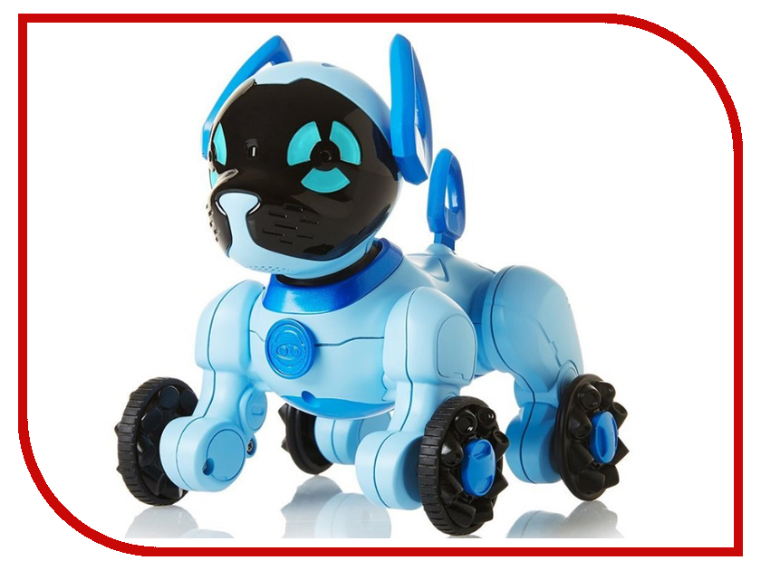 Игрушка WowWee Chip Light Blue 2804 20w high power led ultra violet uv light chip 365nm 370nm 380nm 385nm 395 405nm 420nm 425nm diy cob light source epileds 42mil