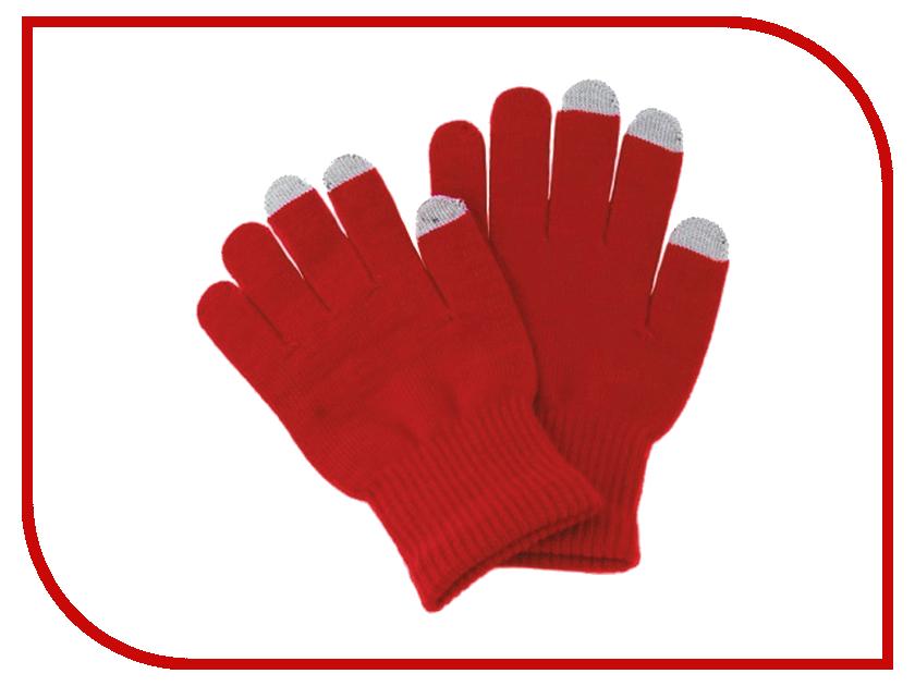 Теплые перчатки для сенсорных дисплеев iGlover Classic р.UNI Red