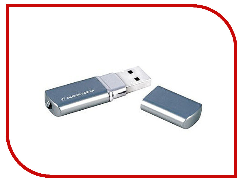 USB Flash Drive 8Gb - Silicon Power LuxMini 720 Deep Blue SP008GBUF2720V1D usb флешка 32gb usb drive usb 2 0 silicon power luxmini 720 dark blue sp032gbuf2720v1d