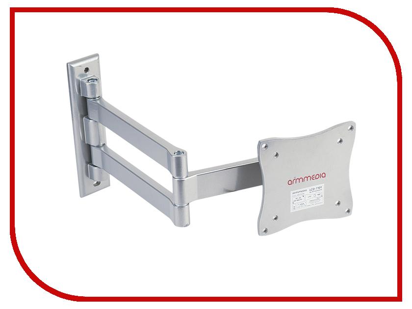 Купить Кронштейн Arm Media LCD-7101 (до 15кг) Silver в России