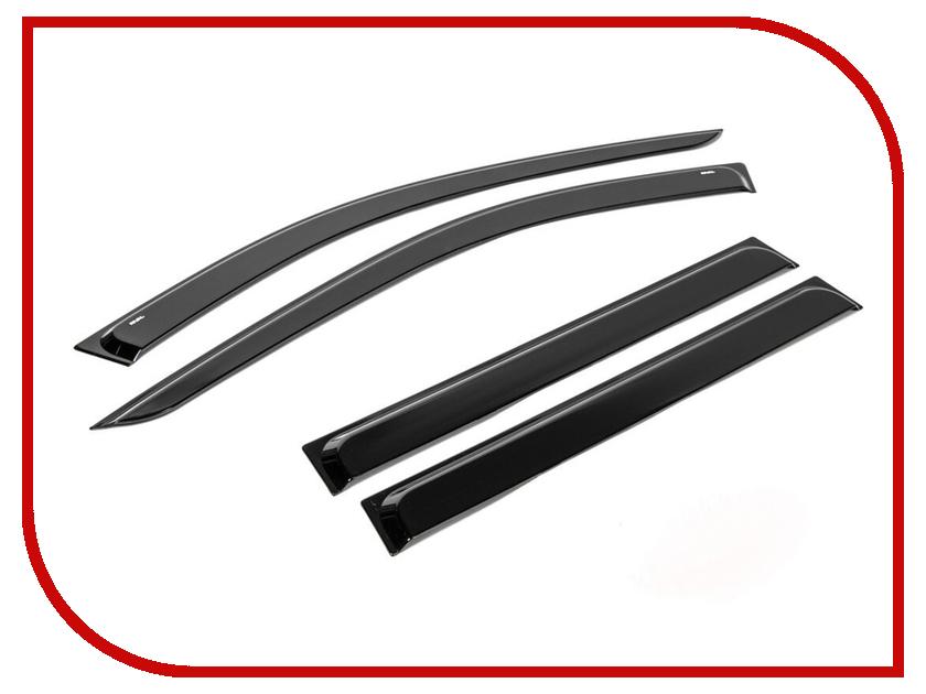 Дефлектор Rival Lada Largus 2012- 760106 накладки на пороги rival для lada largus 2012 4 шт