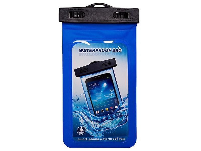 Аквабокс Чехол водонепроницаемый Activ IPX8 M Blue 49185