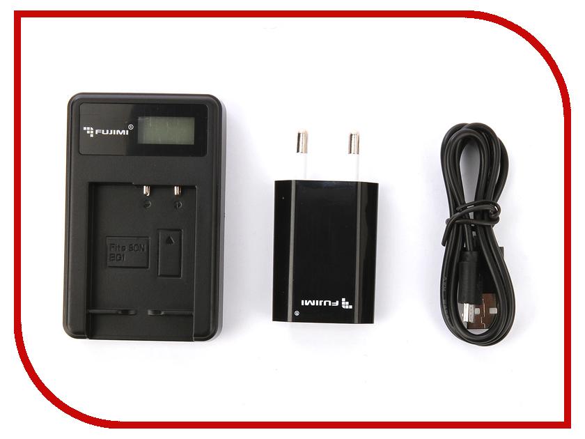Зарядное устройство Fujimi FJ-UNC-BG1 + Адаптер питания USB зарядное устройство fujimi fj unc enel3e адаптер питания usb