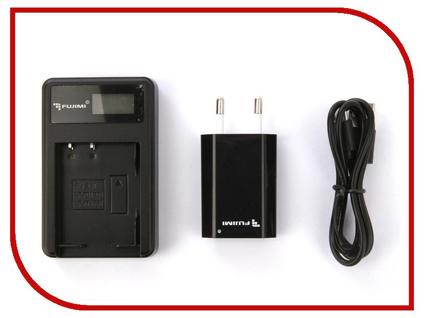 Зарядное устройство Fujimi FJ-UNC-BD1 + Адаптер питания USB зарядное устройство fujimi fj unc enel3e адаптер питания usb