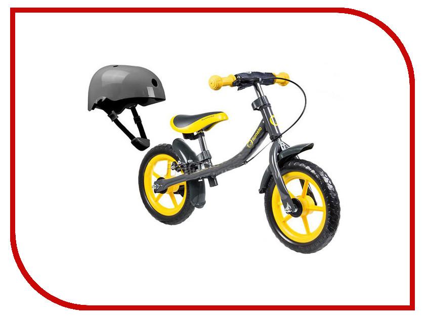 Беговел Lionelo Dan Plus Yellow + шлем LODANYellow стульчики для кормления lionelo linn plus