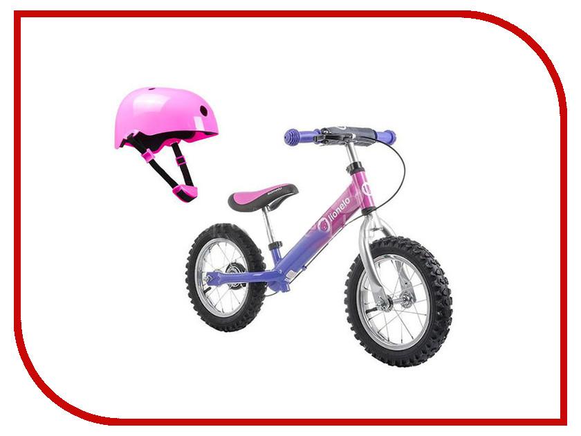 Беговел Lionelo Dex Plus Pink Cameleon + шлем LODEXPink стульчики для кормления lionelo linn plus