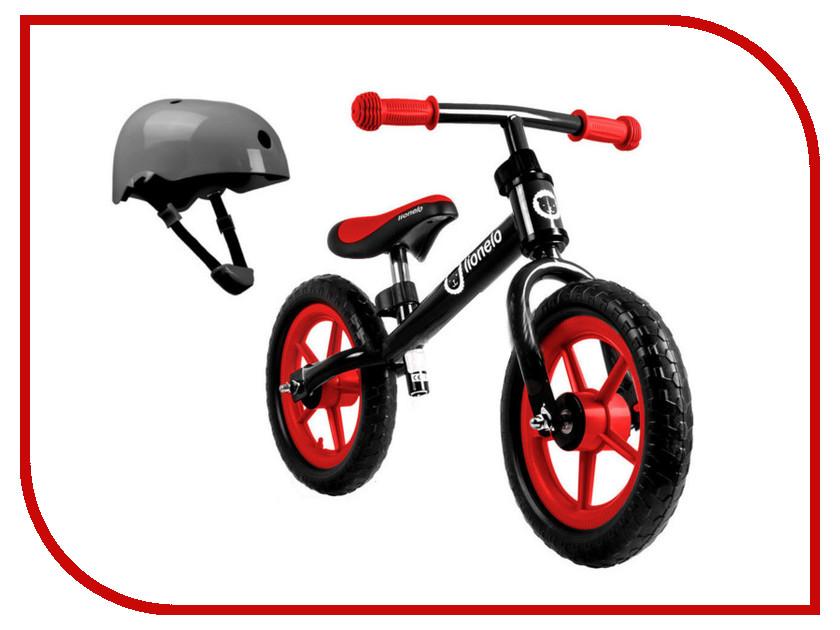 Беговел Lionelo Fin Plus Black + шлем LOFINBlack стульчики для кормления lionelo linn plus