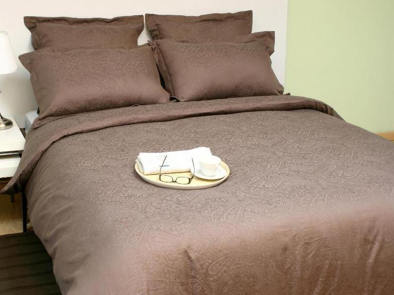 Постельное белье Marize Комплект 1.5 спальный Наволочки 70x70 Жаккард 1931 комплект белья павлина величие 1 5 спальный наволочки 70x70 цвет голубой
