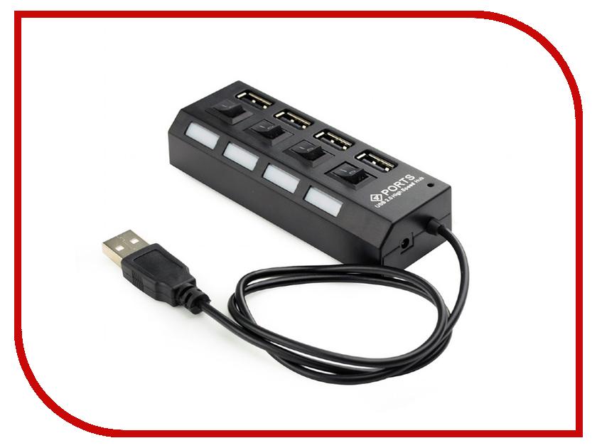 Хаб USB Gembird 4xUSB 2.0 UHB-U2P4-02