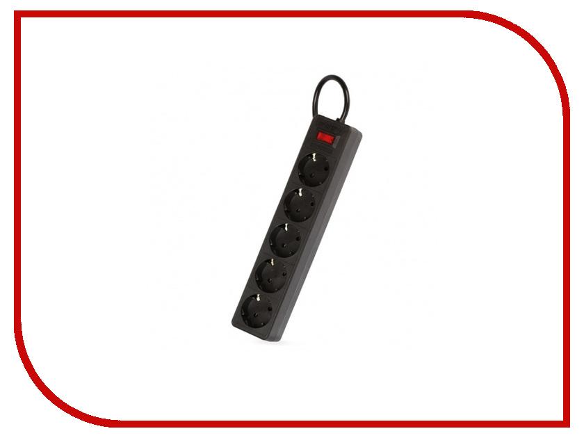 Сетевой фильтр SmartBuy One 5 Sockets 3m Black SBSP-30-K