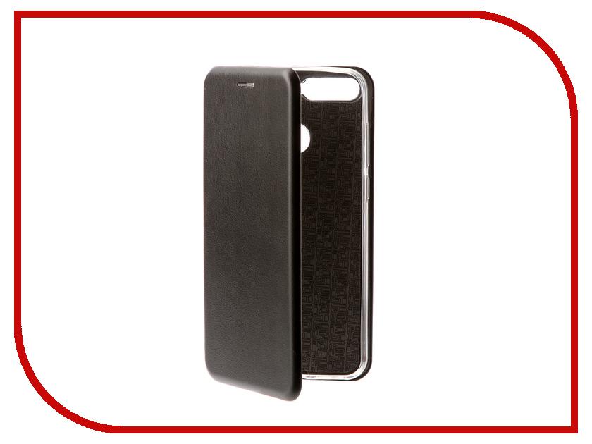 Аксессуар Чехол для Huawei Y6 Prime 2018 Red Line Unit Black УТ000015288 аксессуар чехол книга для huawei 7а pro y6 prime innovation book silicone red 12412