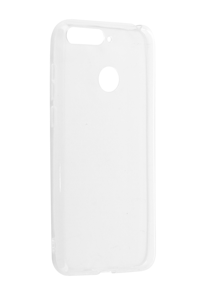 Чехол iBox для Huawei Y6 Prime 2018 Crystal Transparent УТ000015287 аксессуар чехол huawei honor 5c ibox crystal grey