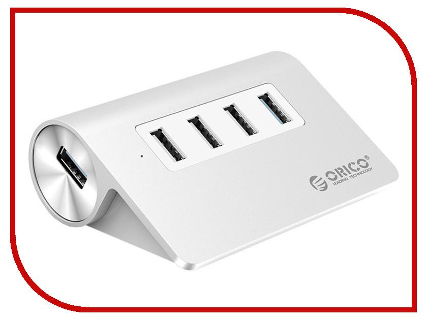 Хаб USB Orico M3H4-U32 Silver