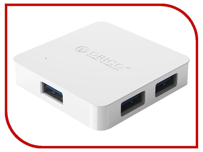 Хаб USB Orico TA4U-U3 White