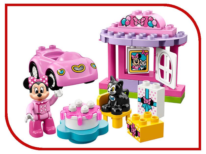 Конструктор Lego Duplo День рождения Минни 10873 lego duplo lego конструктор lego duplo 10597 день рождения с микки и минни