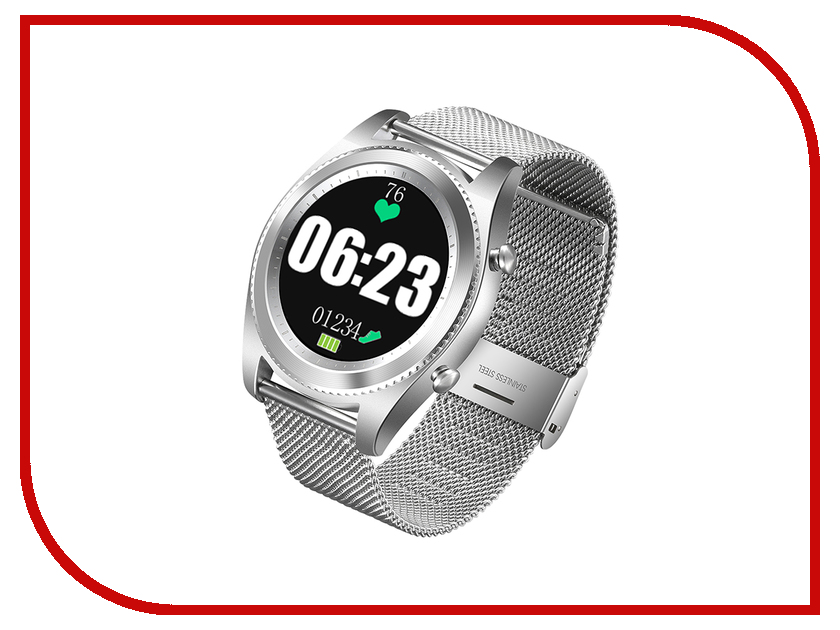 Умные часы NO.1 S9 Silver no 1 g7 2g smart watch phone tpu strap silver