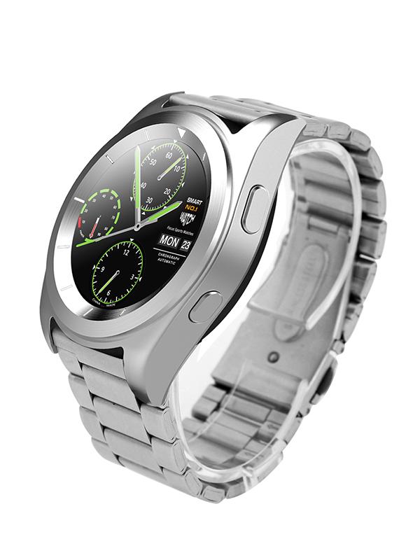 Умные часы NO.1 G6 (silicone) Silver