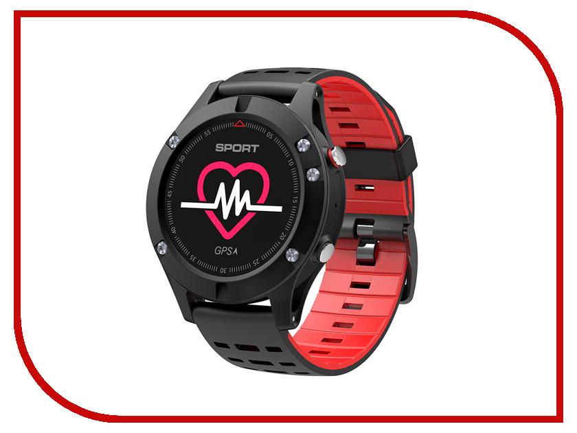 Умные часы NO.1 F5 Black-Red