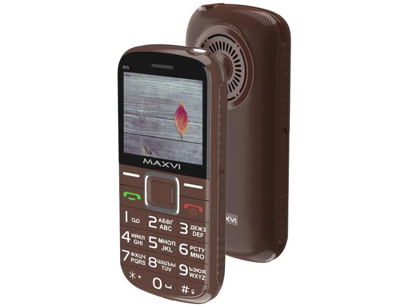 Фото - Сотовый телефон MAXVI B5 Brown сотовый телефон