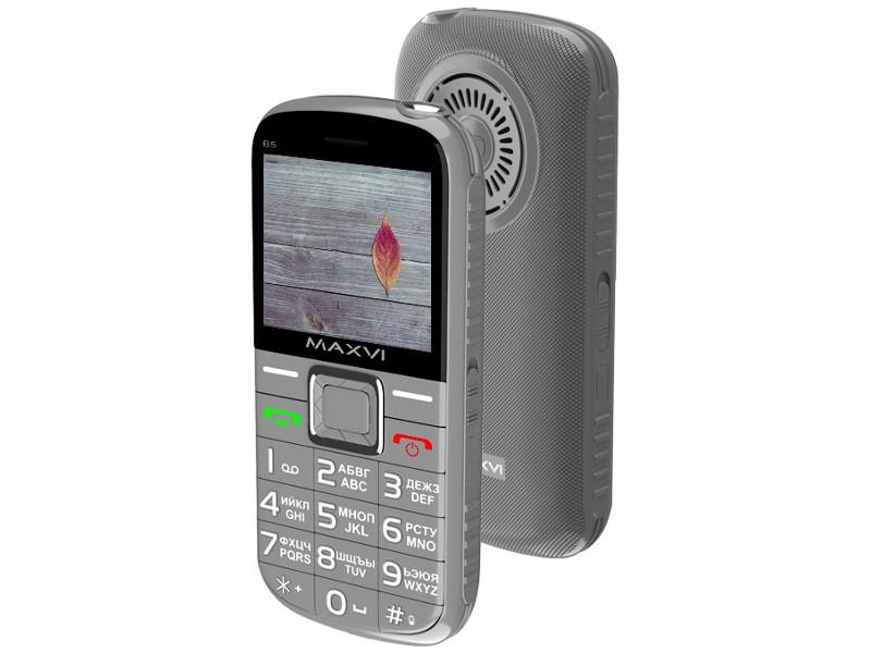 Сотовый телефон Maxvi B5 Grey