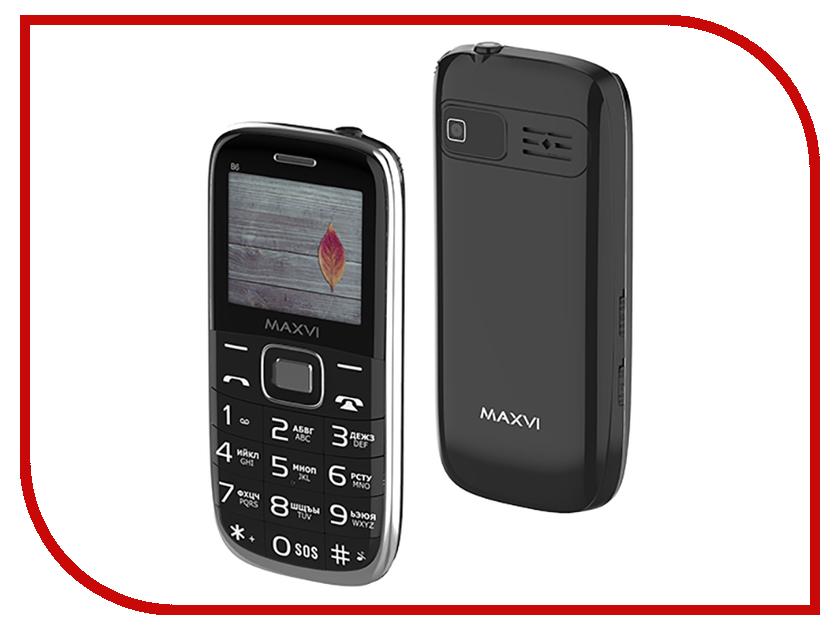 Сотовый телефон MAXVI B6 Black сотовый