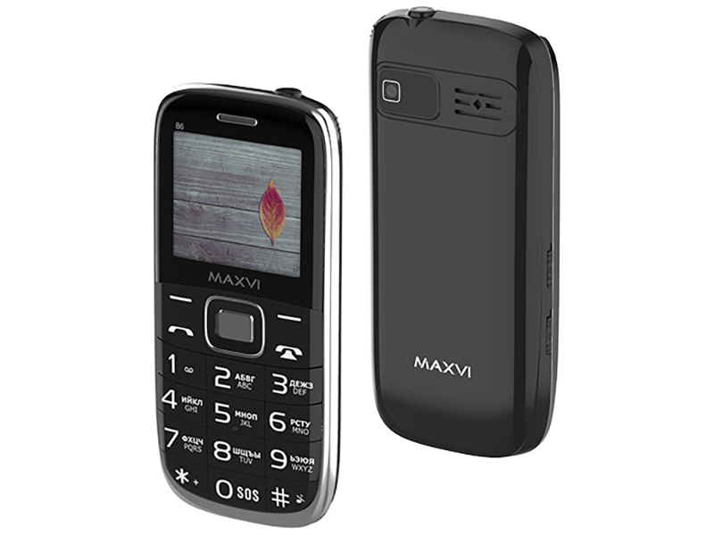 Сотовый телефон MAXVI B6 Black