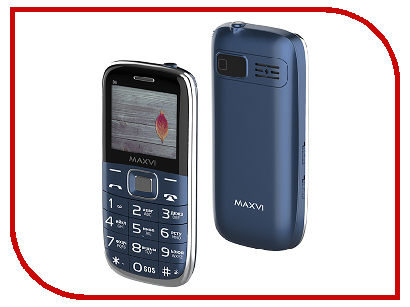Сотовый телефон Maxvi B6 Marenga сотовый телефон maxvi p11 gold