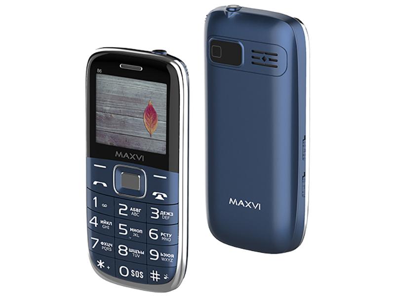 Сотовый телефон MAXVI B6 Marengo
