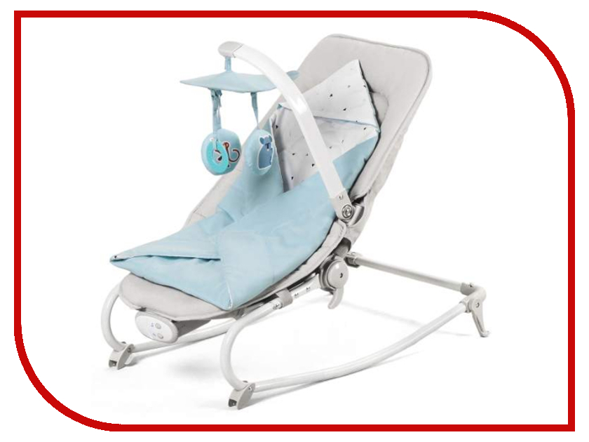 Кресло-шезлонг Kinderkraft Felio Light Blue KKBFELILIBL000