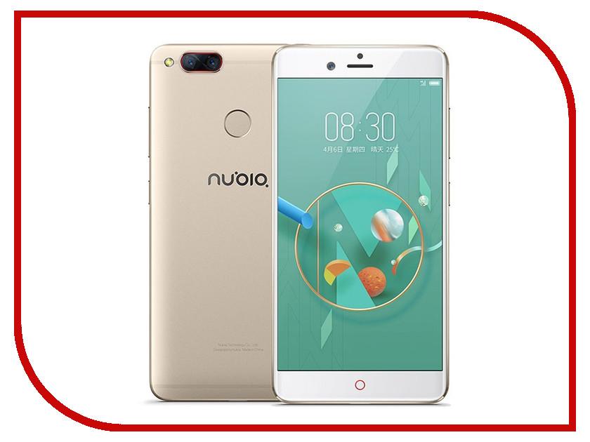 Сотовый телефон ZTE Nubia Z17 Mini 64Gb RAM 4Gb Gold