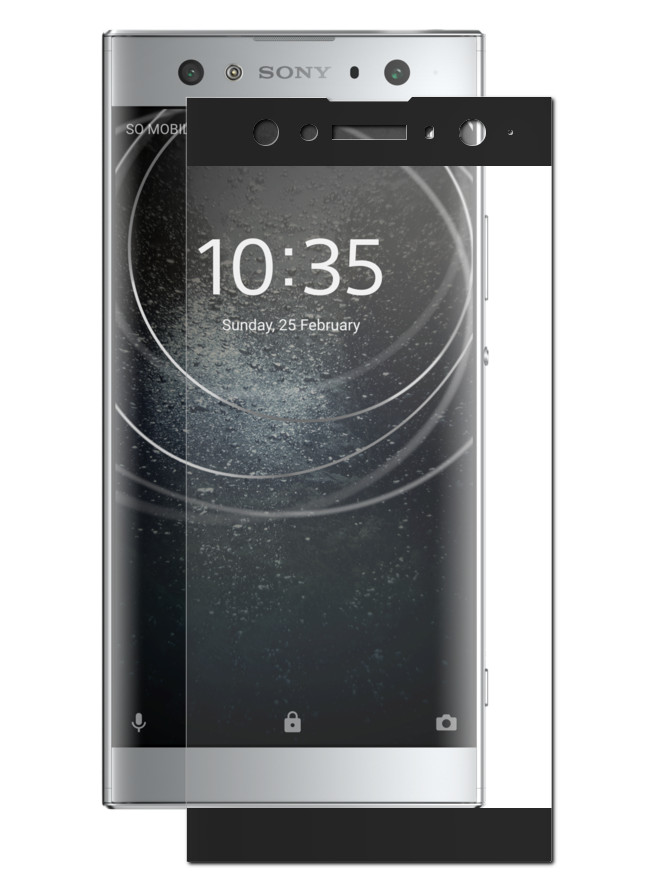 Аксессуар Защитное стекло Svekla для Sony Xperia XA2 Ultra H3213/3223/4213/4233 Full Screen Black ZS-SVSOH3213-FSBL