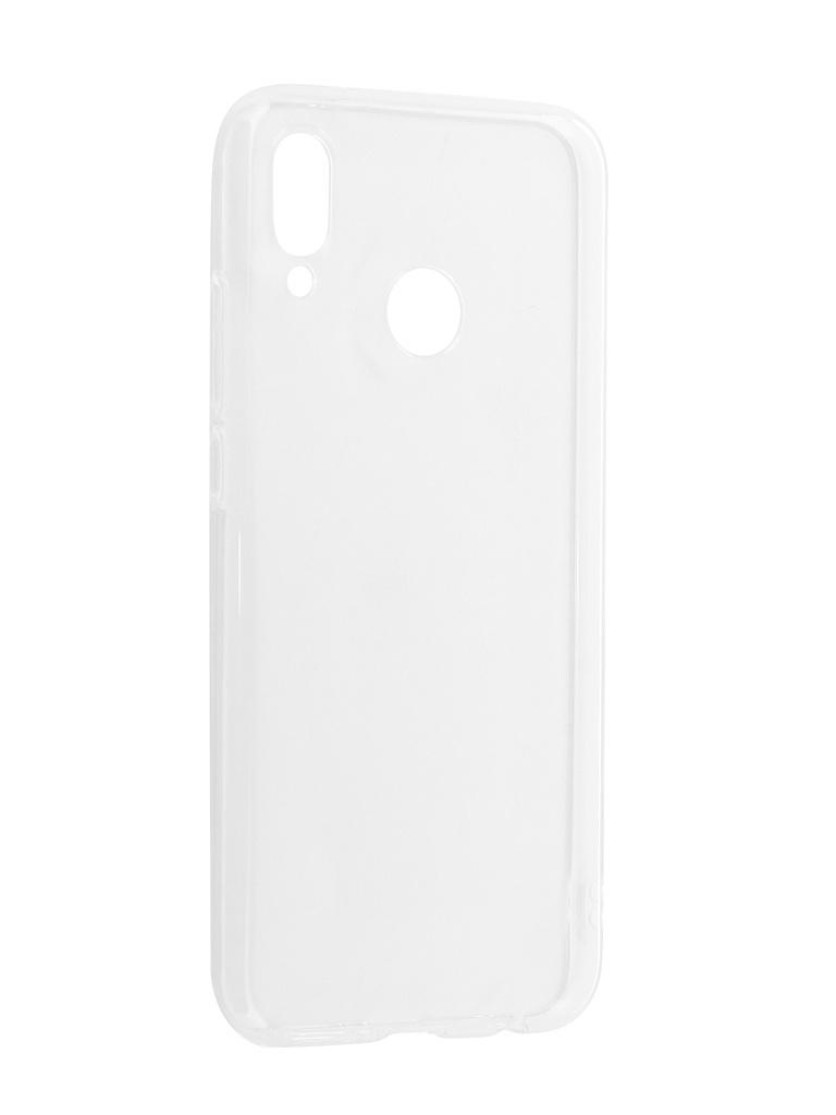Аксессуар Чехол Svekla для Huawei P20 Lite Transparent Silicone Clear SV-HWP20LITE-WH
