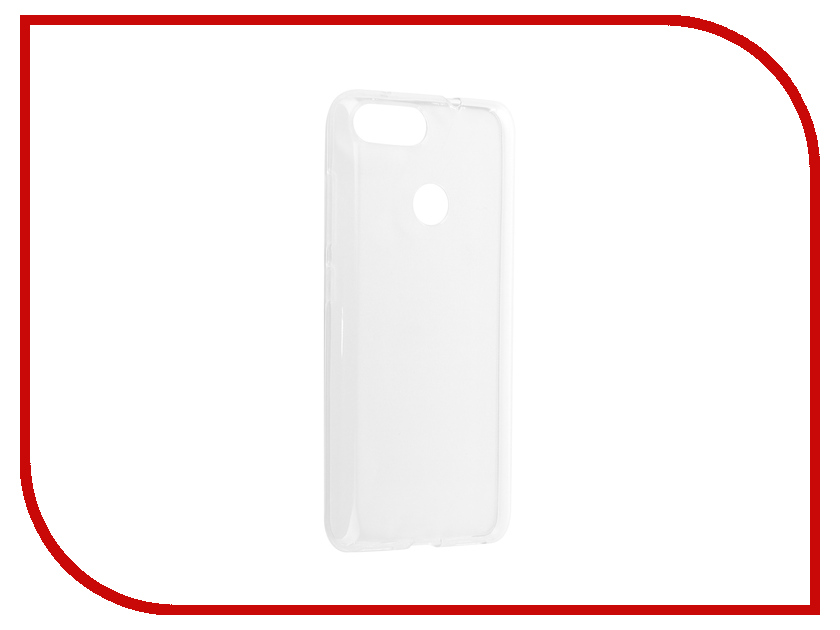 Аксессуар Чехол для ASUS ZenFone Max Plus M1 ZB570TL Svekla Silicone Transparent SV-ASZB570TL-WH аксессуар чехол lg k8 2017 gecko transparent glossy white s g lgk8 2017 wh
