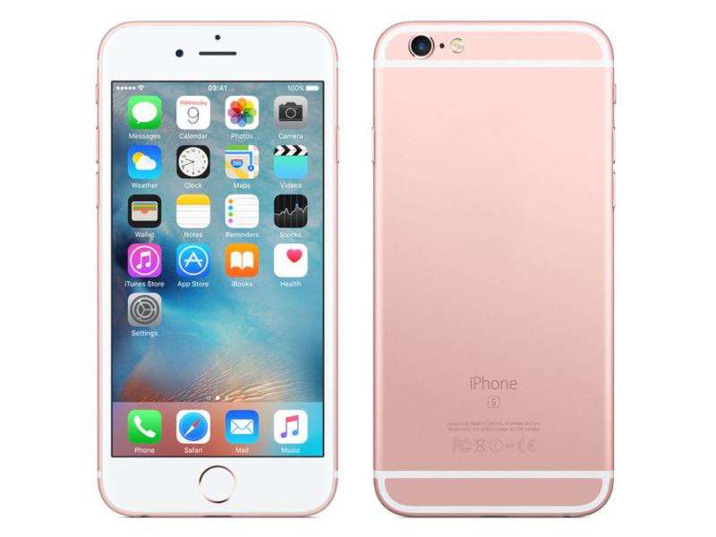 Сотовый телефон APPLE iPhone 6S - 16Gb Rose Gold FKQM2RU/A восстановленный цена и фото