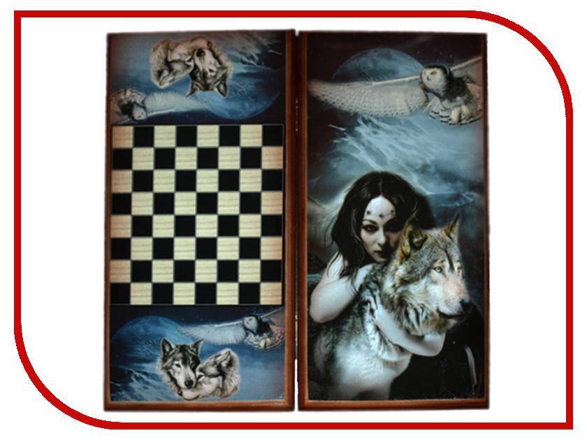 цена на Игра Карты М Нарды-шашки Девушка и Волк 7040/13