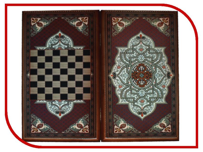 Игра Карты М Нарды-шашки Бордовый узор 7040/15 обучение карты