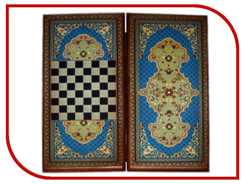 Игра Карты М Нарды-шашки Синий узор 7040/17 ворота каркас эконом 2 0х3 45 м серые ral 7040