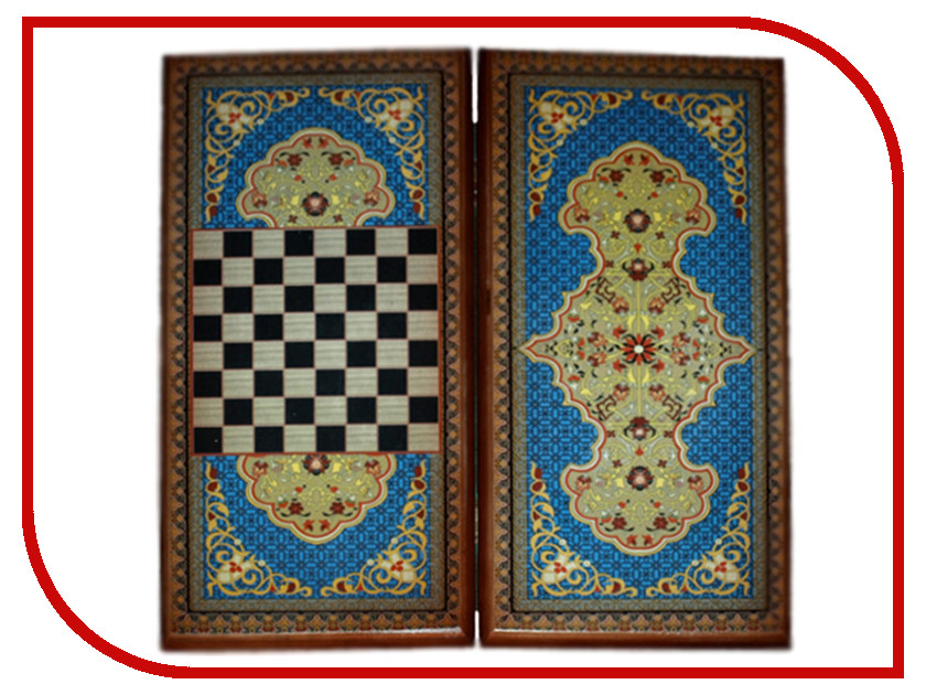 цена на Игра Карты М Нарды-шашки Синий узор 7040/17
