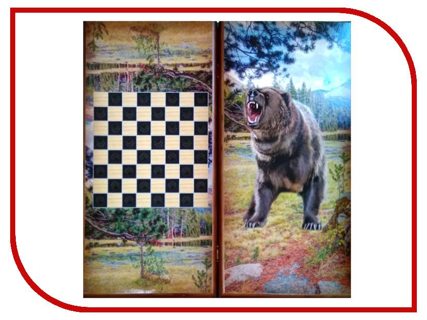 цена на Игра Карты М Нарды-шашки Медведь 7040/19