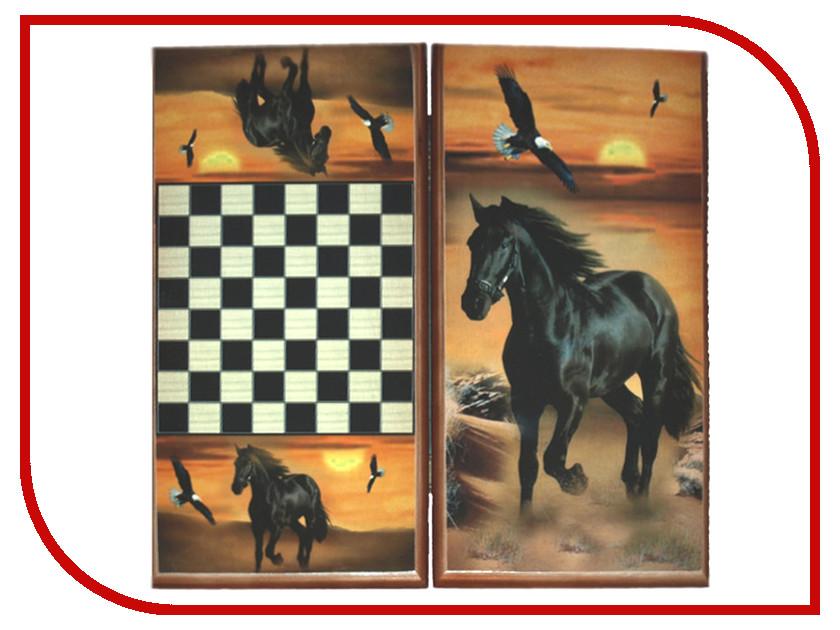 Игра Карты М Нарды-шашки Лошадь 7040/20 обучение карты