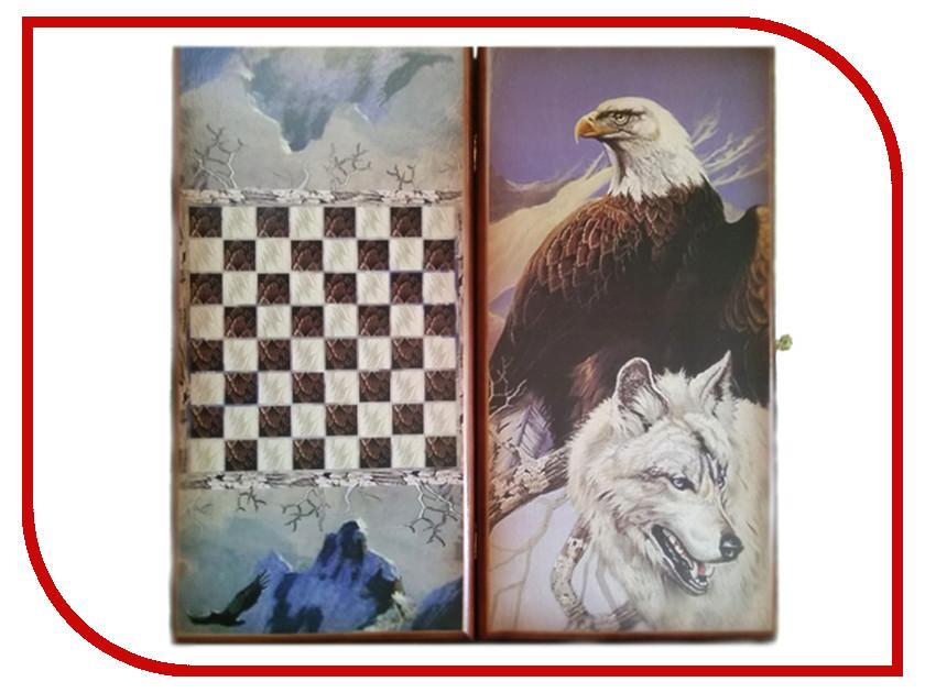 Игра Карты М Нарды-шашки Орел и Волк 7040/21 обучение карты