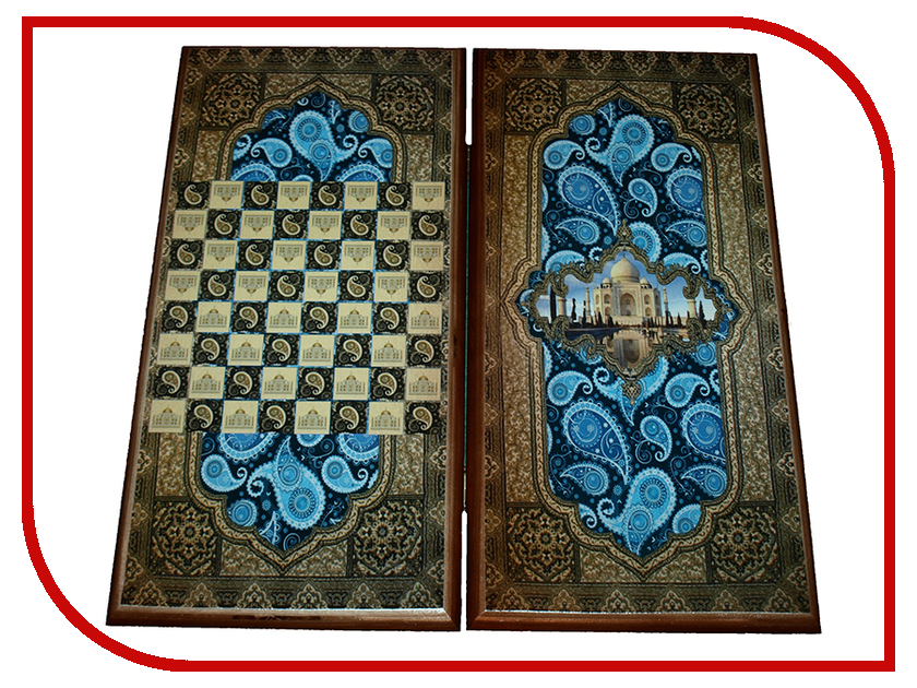 Игра Карты М Нарды-шашки Тадж Махал 7050/11 обучение карты