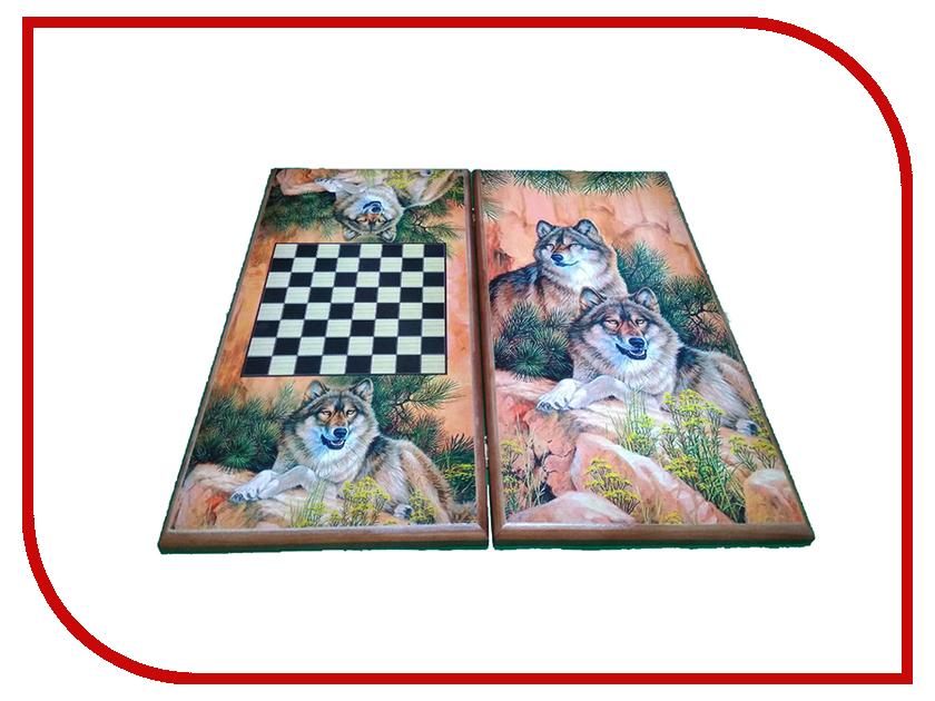 Игра Карты М Нарды-шашки Волки 7050/22 обучение карты