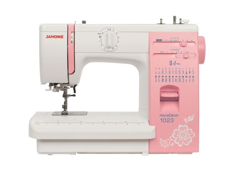 Швейная машинка Janome HomeDecor 1023 обогреватель mystery mch 1023