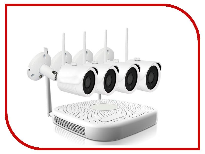 Видеонаблюдение IVUE 2MPX IVUE-W5004-1080-B4 коммутатор ivue ps20 2f16c