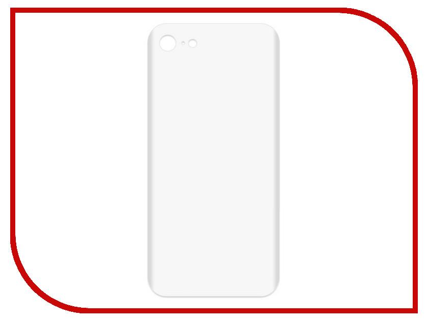 Аксессуар Чехол-накладка для APPLE iPhone 7 / 8 Krutoff TPU Transparent 11942 цена и фото