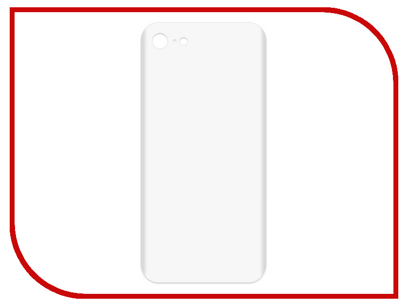 Аксессуар Чехол-накладка для APPLE iPhone 7 / 8 Krutoff TPU Transparent 11942 аксессуар чехол krutoff для apple iphone 7 8 silicone case pink sand 10746