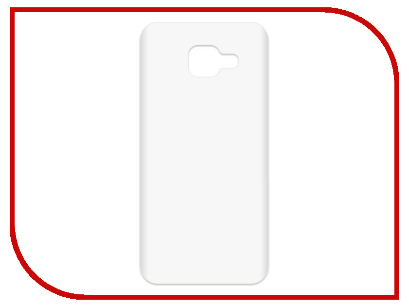 Аксессуар Чехол-накладка для Samsung Galaxy A3 2016 SM-A310F Krutoff TPU Transparent 11945 protective pc tpu back case cover w stand for samsung galaxy note 4 transparent white